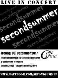 Secondsummer - LIVE in Concert@Café Carina