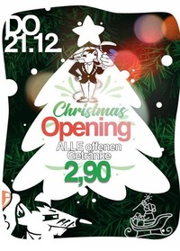 Christmas Opening@Mausefalle Lienz