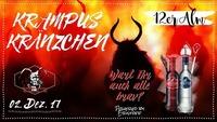 Krampuskränzchen@12er Alm Bar
