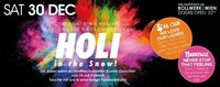 Holi in the Snow!@Bollwerk