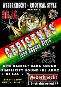 Christmas inna Reggae Style@Weberknecht