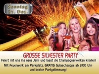 Grosse Silvester PARTY@Mausefalle