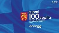 Suomi 100 Vuotta - Finnland 100 Jahre Aftershow Party@Orange