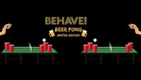 Behave! Beer Pong Winter-Edition@U4