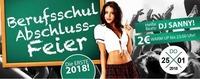 Berufsschulabschlussfeier - Die ERSTE 2018