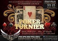 ★ ★ ★ Poker Turnier ★ ★ ★@Gabriel Entertainment Center