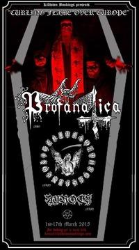 Profanatica / Rites of thy Degringolade / Auroch@Viper Room