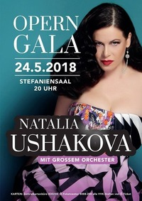 Operngala Natalia Ushakova mit großem Orchester@Grazer Congress