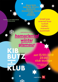 Kibbutz Klub: Homoriental Winter Glamour@Club Auslage