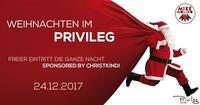 Weihnachten im Privileg@Club Privileg