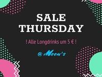 Sale Thursday feat. DJ POGO@Moon's