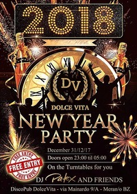 Dolce Vita - New Year Party@Dolce Vita