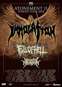 Immolation / Full Of Hell / Monument Of Misanthropy@Viper Room