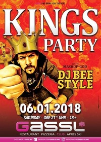 BEESTYLE`s Kings Party@Gassl