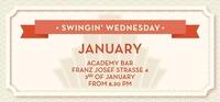 Swingin' Wednesday January 2018@academy Cafe-Bar