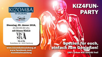 kiz4fun - die Kizomba Party der Stadt@Vis A Vis