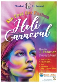 PfarrGschnas - Holi Carneval - Ein Fest der Farben@Pfarre Sankt Konrad