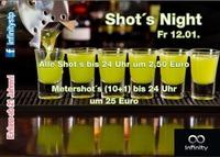 Shot's Night mit DJ SladeAx@Infinity Club Bar
