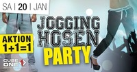 Cube One – Jogginghosen-Party@Cube One
