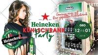 Heineken Kühlschrank Party
