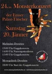 24. int. Monsterkonzert der Emser Palast-Tätscher@Messe Dornbirn