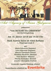 Von Mozart bis Gershwin