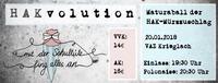 HAKvolution - Mit der Schultüte fing alles an@VAZ Krieglach