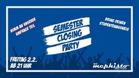 Semester Closing Party im Mephisto@Bar Mephisto