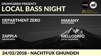 Drumfabrik pres.: LOCAL BASS NIGHT (Deep/Liquid/Neuro)@Nachtfux