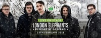London Elephants live @Visavis // Support Dj Giangi@Visavis Bistro & Catering