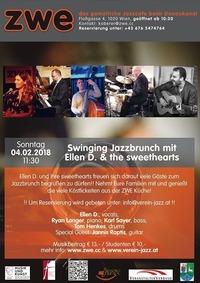 Swinging Jazzbrunch mit Ellen D. & the sweethearts@ZWE