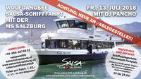 Salsaschiff - Wolfgangsee - Salsa Club Salzburg@Wolfgangsee Anlegestelle Gschwendt-Parkplatz (Abersee)