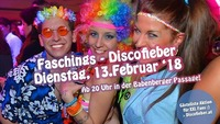 Discofieber Faschingsdiiiiienstag am 13.2.2018 in der Passage@Babenberger Passage