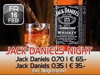 Jack Daniels Night