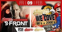 B-Front Live / We love 90's + 2000's@Cheeese