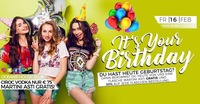 ✦ Its YOUR Birthday ✦@oceans House Club