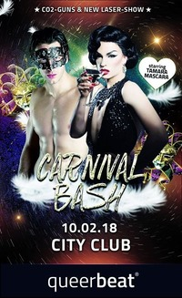 Carnival BASH! by queer:beat@Club Nautica