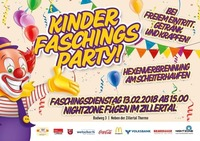 Kinder Faschings Party@Nightzone Zillertal