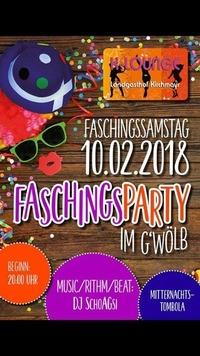 Faschingsparty im Gwöb@K-Lounge