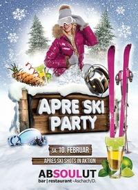 Apre Ski Party! mit den bekannten Hits und Shots@Absoulut