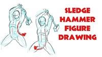 Sledgehammer Figure Drawing@Mon Ami