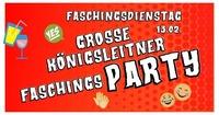 DIE GROßE Königsleitner Faschingsparty@Hannes Alm & K1 Club Königsleiten