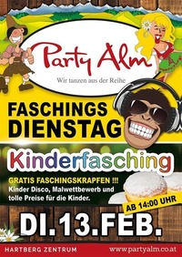 Kinderfasching@Party Alm Hartberg