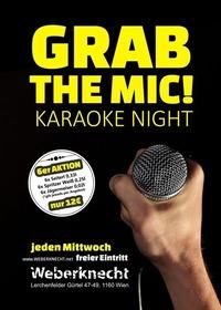 GRAB the MIC! Karaoke Night@Weberknecht