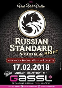 Russian Standard Vodka Night@Gassl