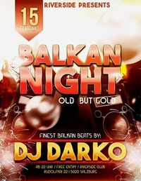 """BALKAN NIGHT""@Riverside"