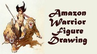 Amazon Warrior Figure Drawing Session@Mon Ami