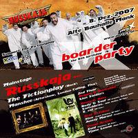 Boarder X Party //Russkaja@Alte Bauhalle