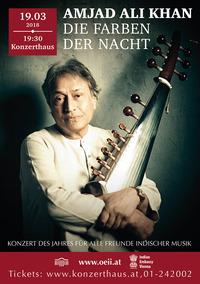 Amjad Ali Khan «Farben der Nacht»@Wiener Konzerthaus