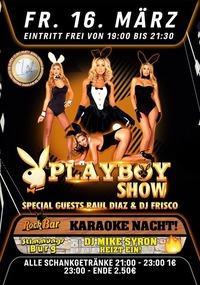 Playboy Show mit Raul Diaz & DJ Frisco aus Spanien!@Excalibur